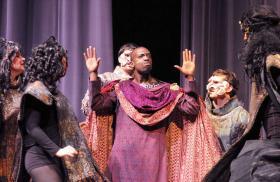 Dido and Aeneas, Washburn Opera Studio, Topeka, Kansas, 2012