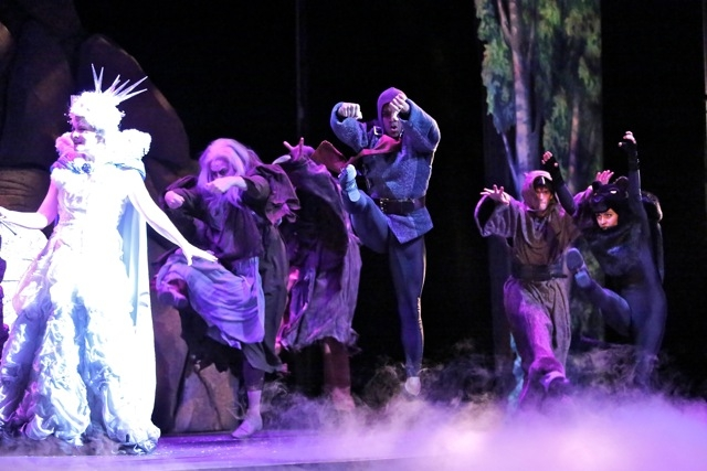 White Witch, Narnia, Starlight Children's Theater, Kansas City, Missouri, 2012