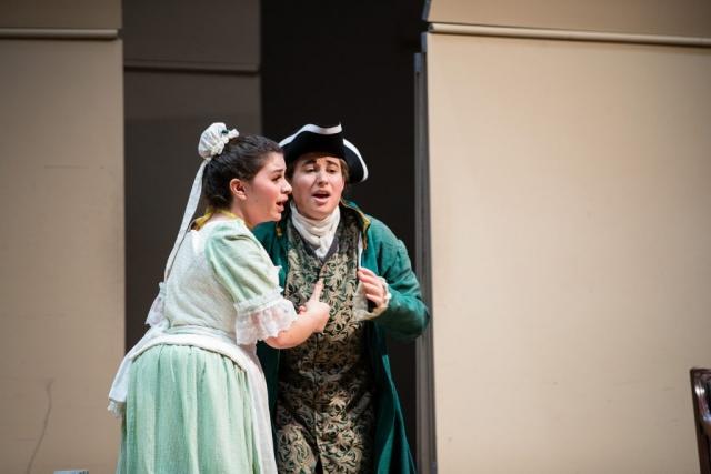 Le Nozze di Figaro, Act II, Skidmore College Opera Workshop, Saratoga Springs, New York, 2019