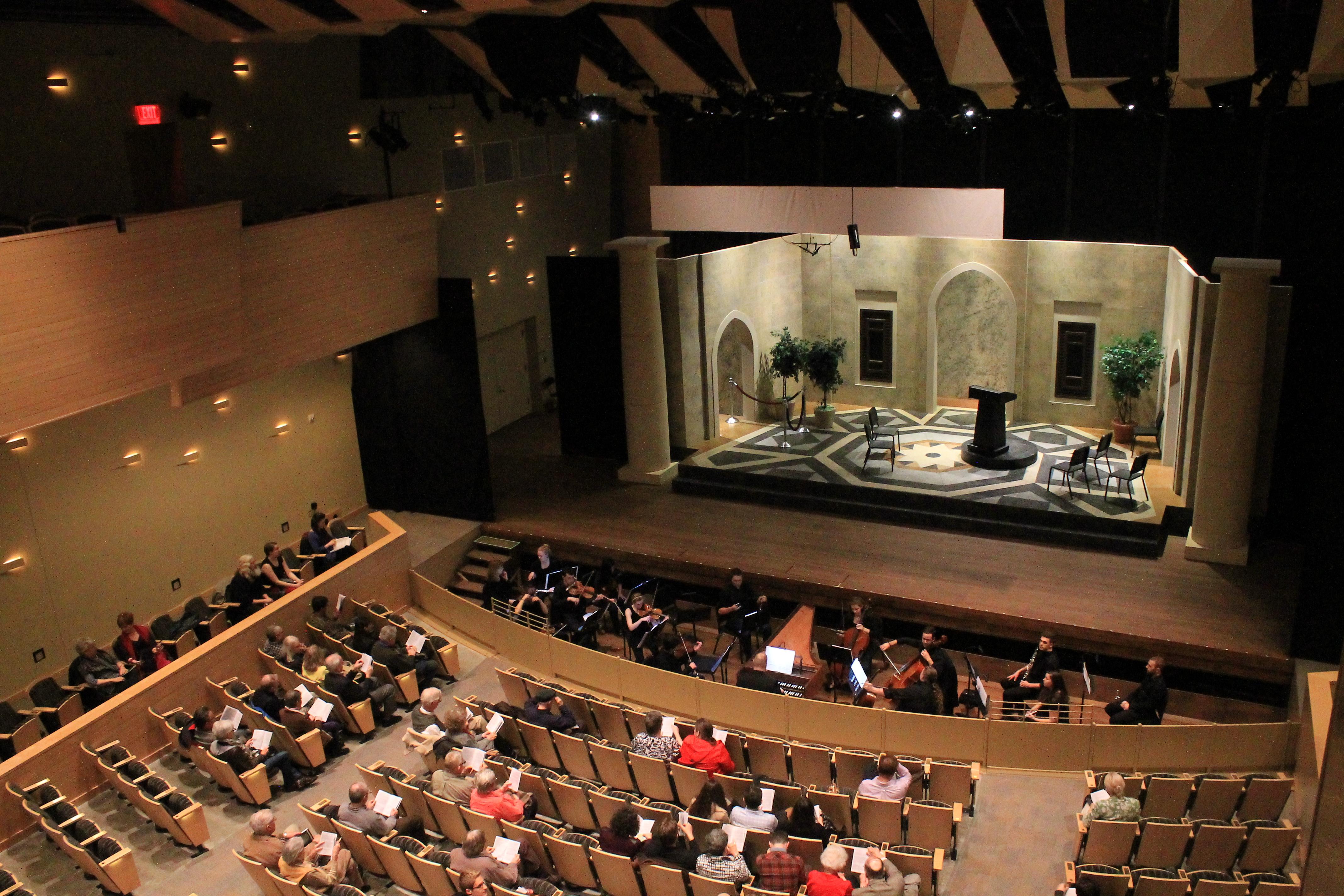 Xerxes, Handel, Skidmore College Opera Workshop, Saratoga Springs, New York, 2016